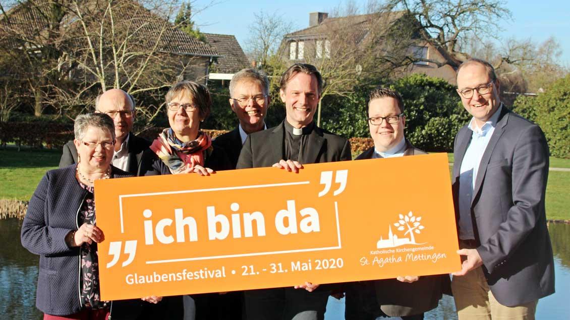 Mettingen bereiten 90 Kirchen-Veranstaltungen vor.
