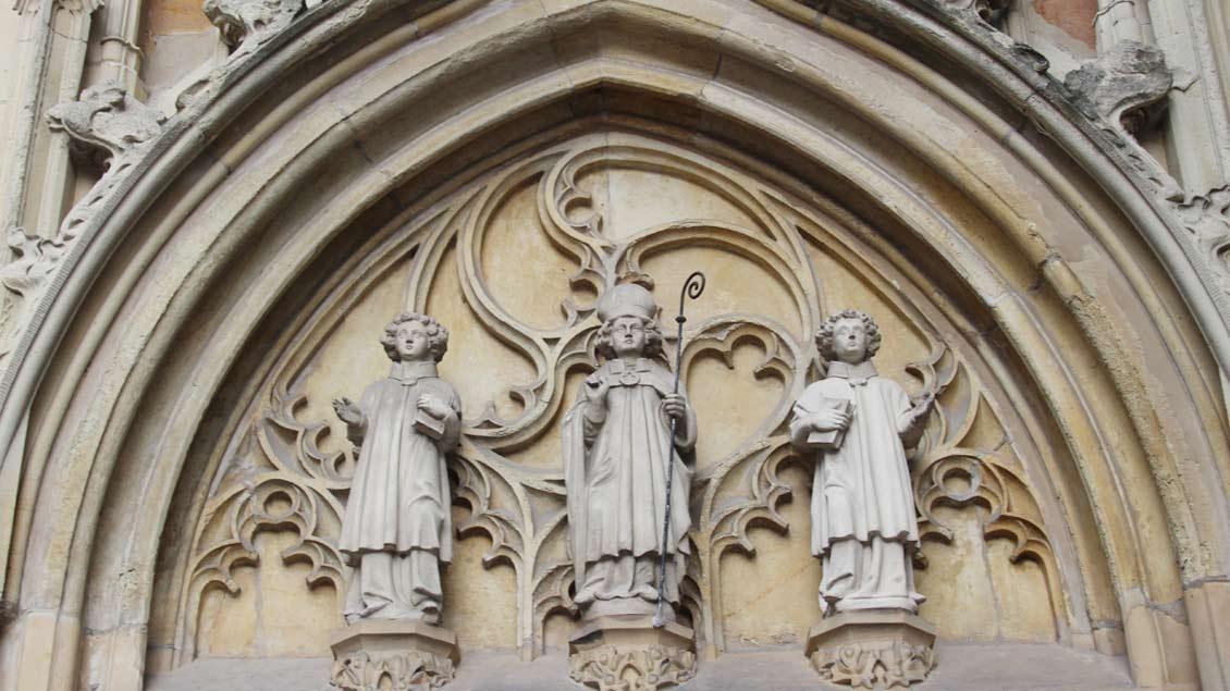 Südportal der St.-Dionysius-Kirche in Rheine