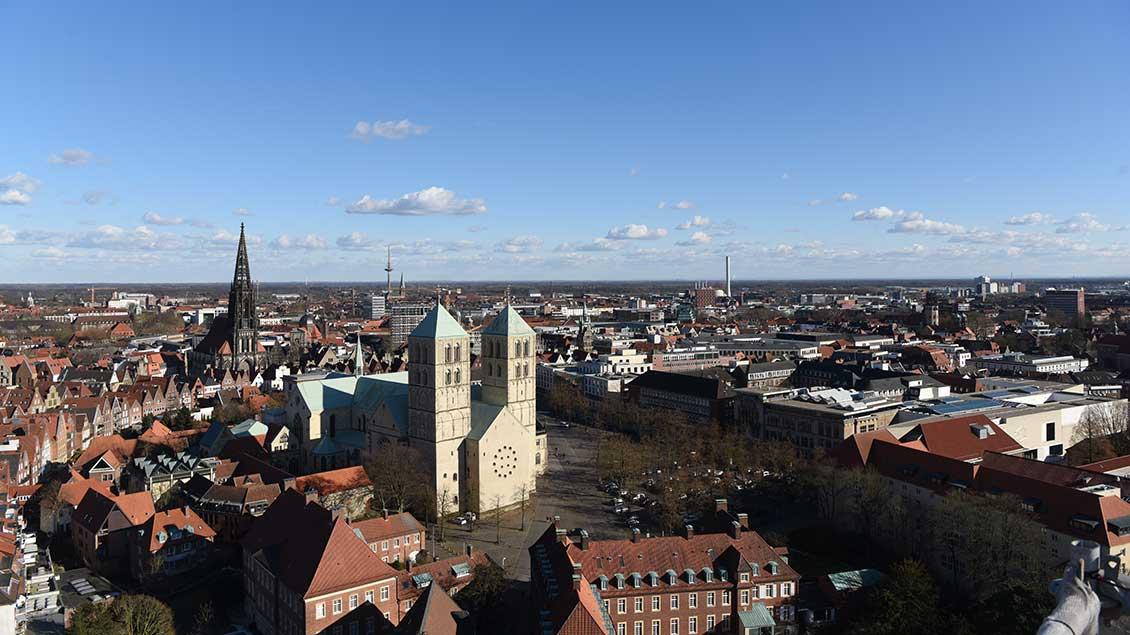 Dom und Domplatz in Münster