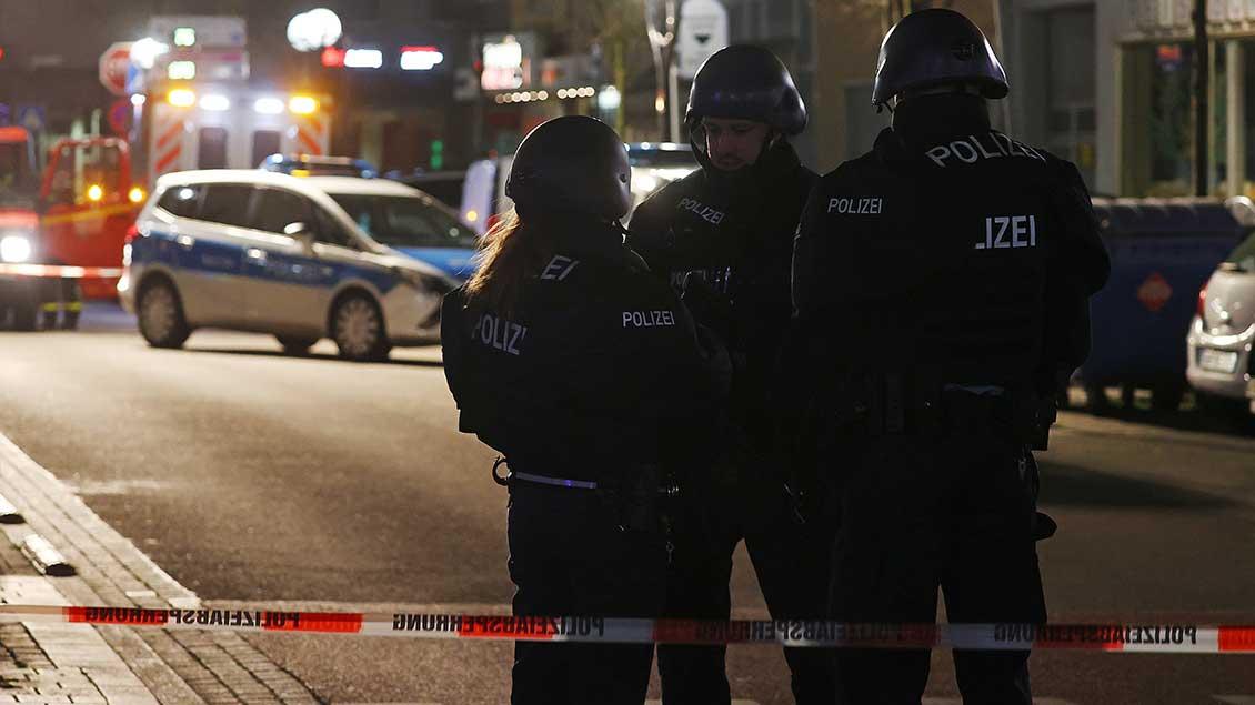 Polizei in Hanau