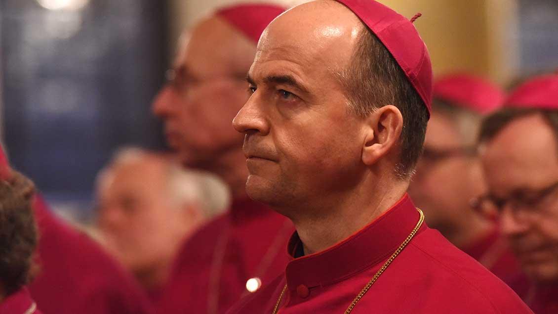 Franz Jung ist Bischof von Würzburg.