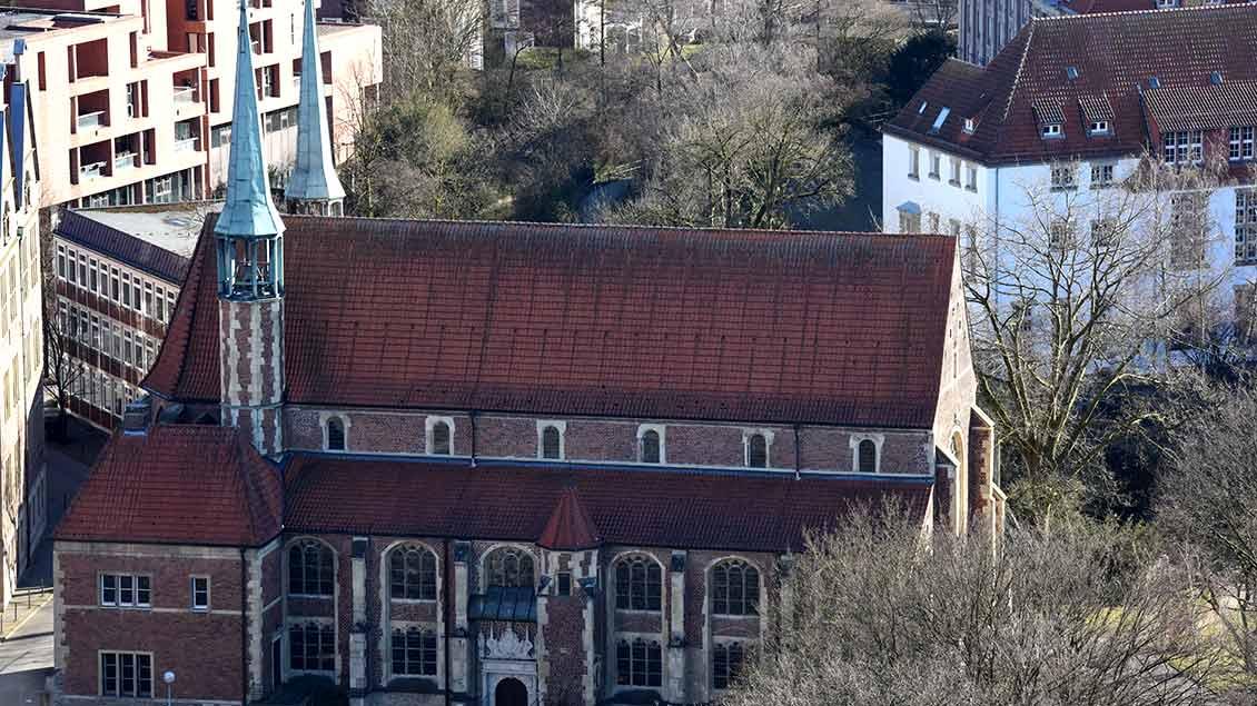 Luftaufnahme Petrikirche