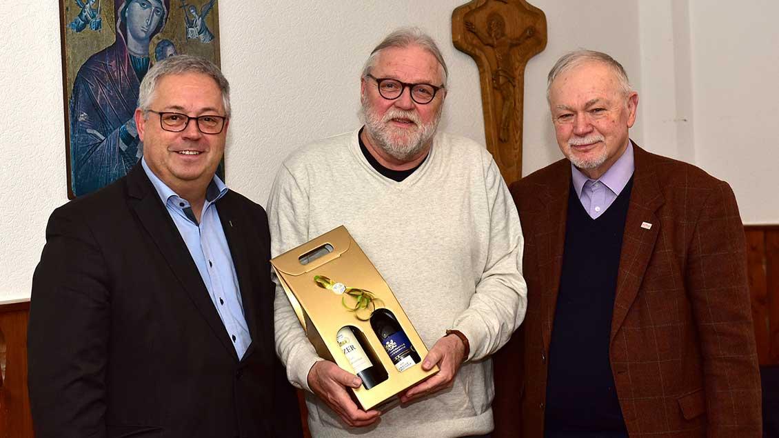 Peter Lenfers, Michael Spanke, Franz Josef Nordhaus