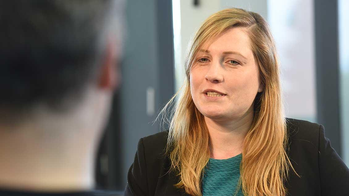 Kerstin Stegemann im Gespräch