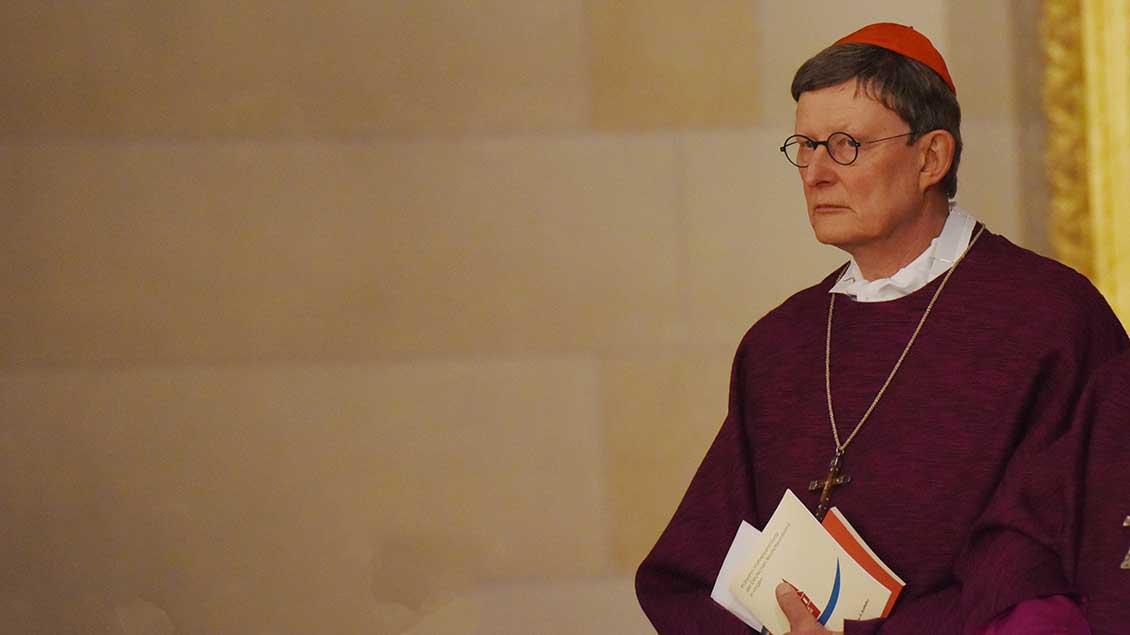 Kardinal Rainer Maria Woelki Archiv-Foto: Michael Bönte