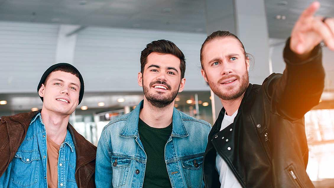 Drei Männer Foto: True Touch Lifestyle (Shutterstock)