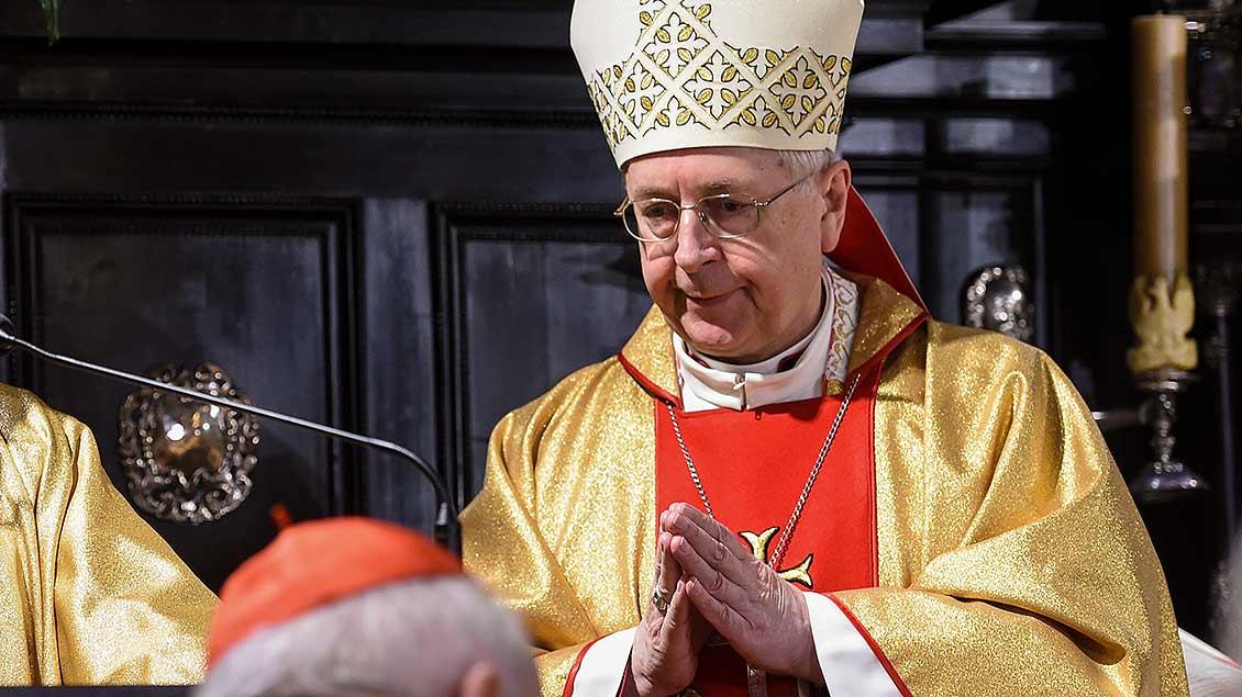 Erzbischof Stanislaw Gadecki bei einer liturgischen Feier
