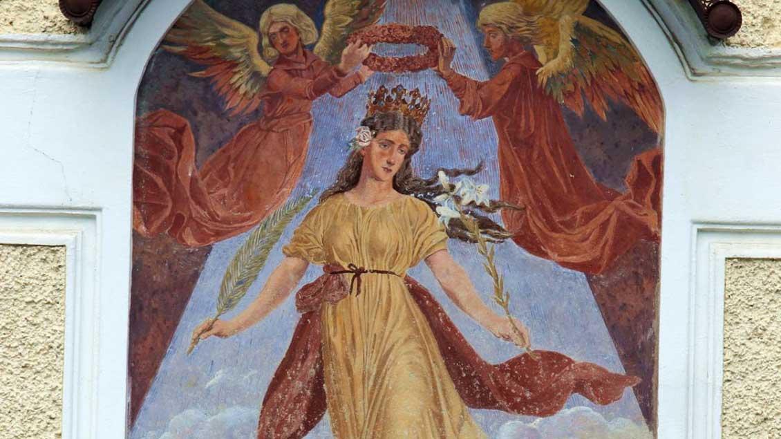 Darstellung der heiligen Corona