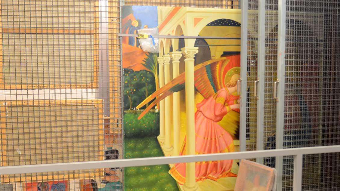 Kopie eines Freskos der Verkündigung Mariens nach dem Maler und Dominikaner Fra Angelico.   Foto: Ann-Christin Ladermann (pbm)