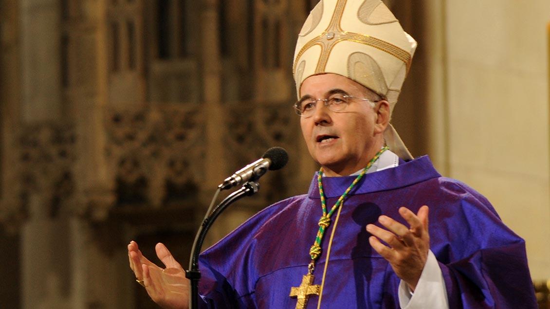 Bischof Felix Genn 2016. Archivbild: Michael Bönte