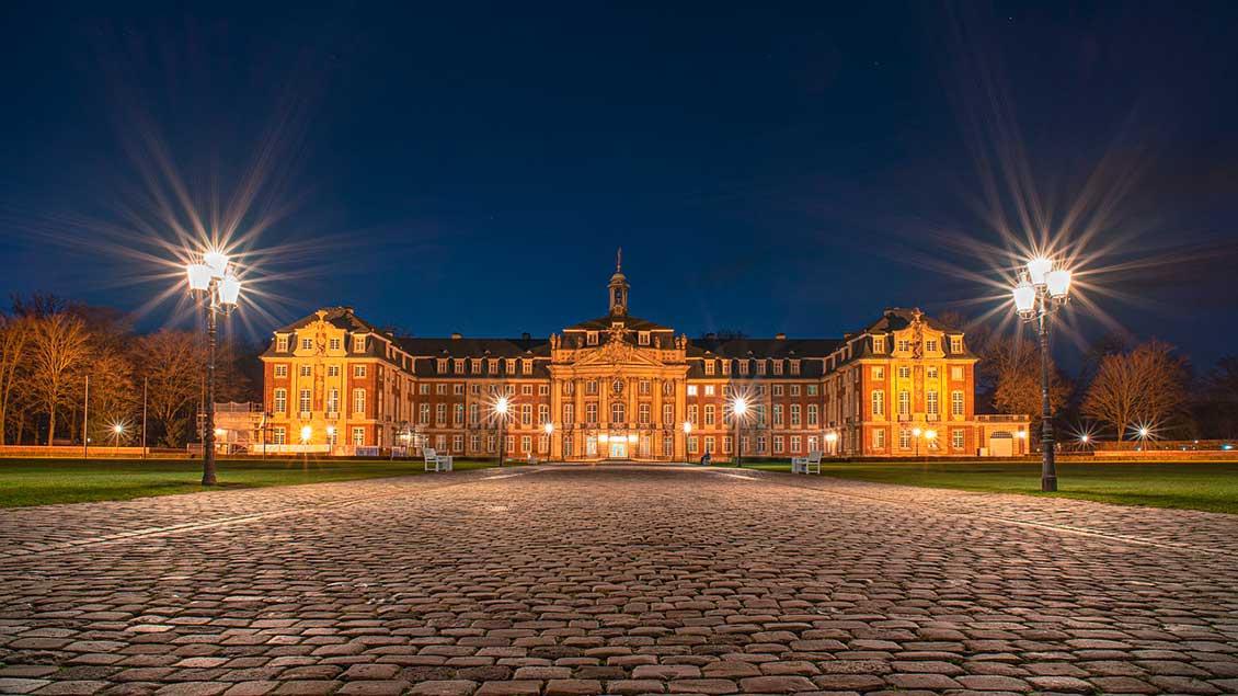 Schloss in Münster, Sitz der Universität