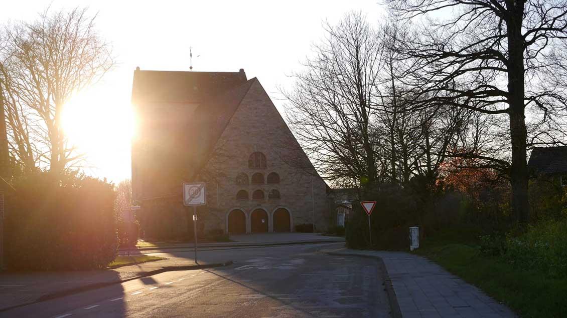 Leere Straßen in Püsselbüren.