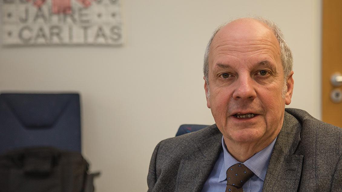 Heinz-Josef Kessmann, Direktor der Caritas in der Diözese Münster