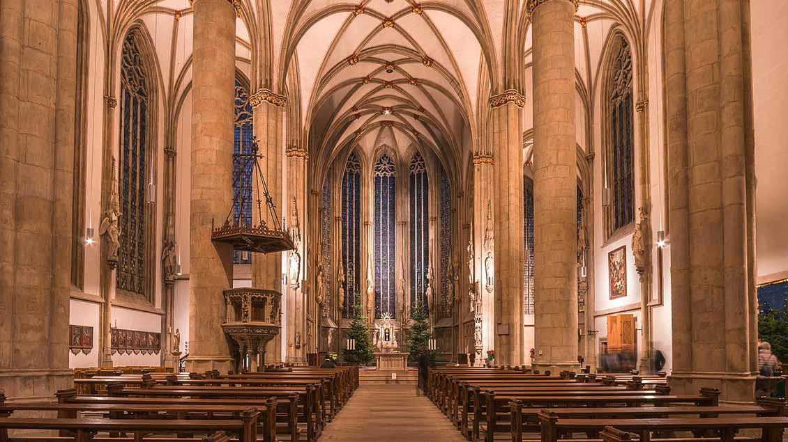 Kirchenschiff von St. Lamberti Münster