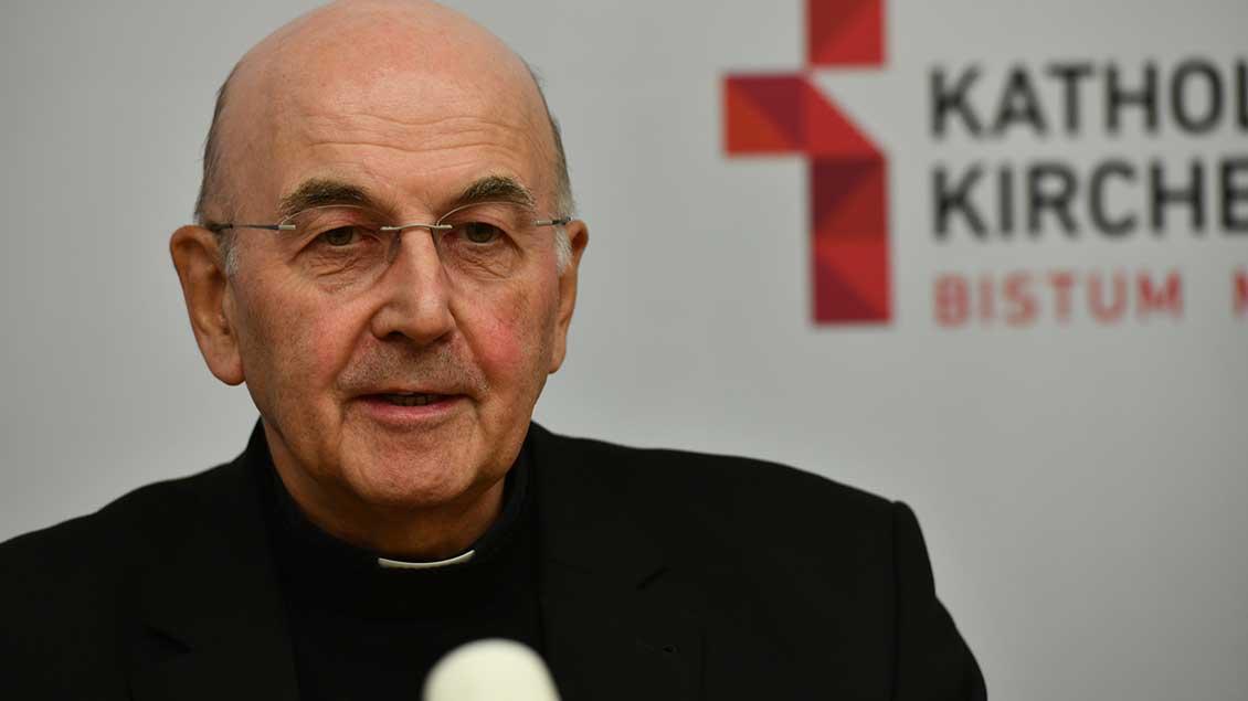 Bischof Felix Genn Archiv-Foto: Michael Bönte