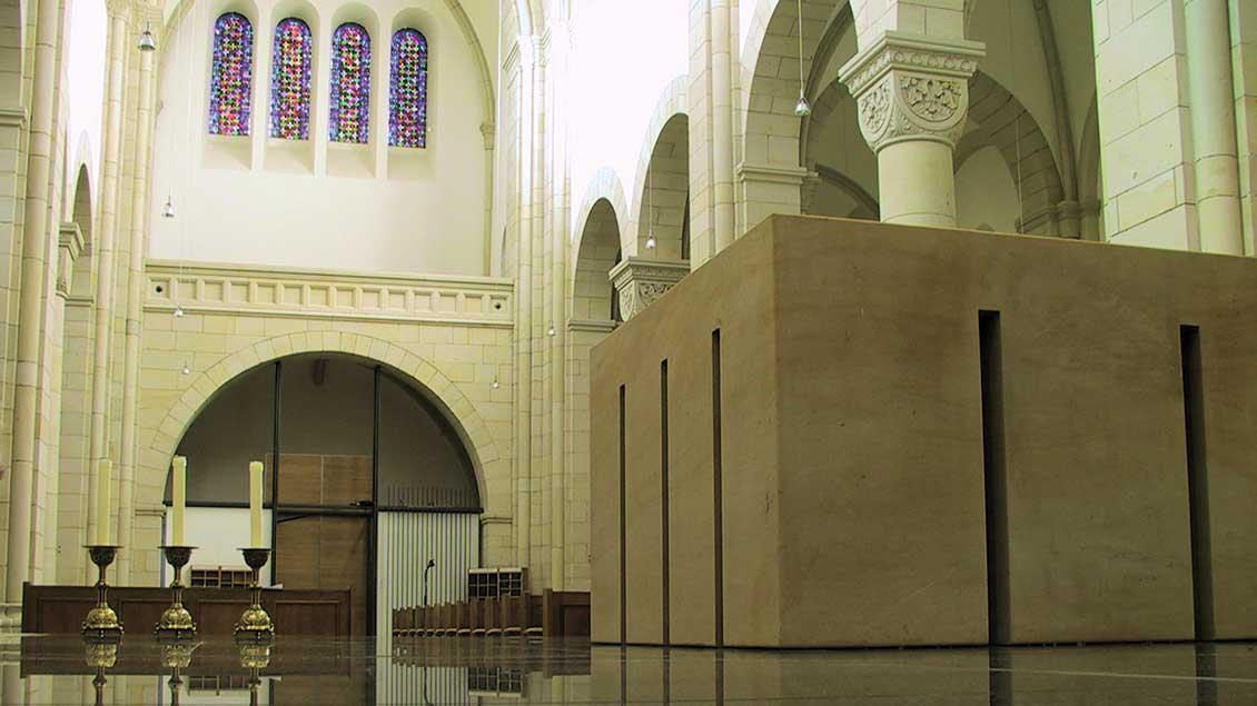 Altar und Kirchraum von Gerleve