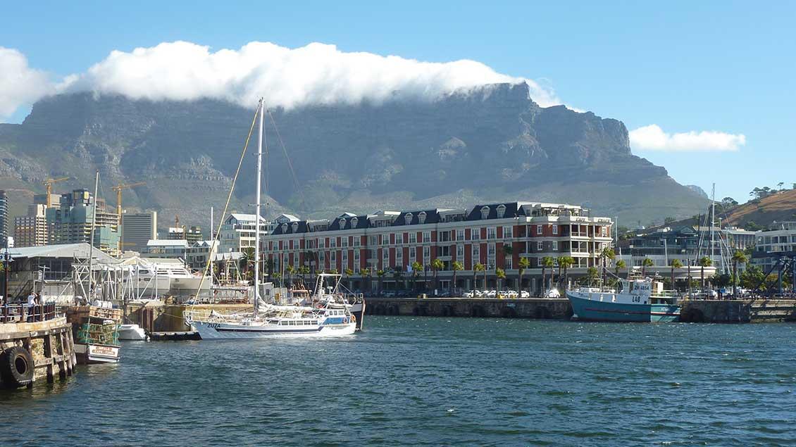 Tafelberg in Südafrikas Hauptstadt Kapstadt