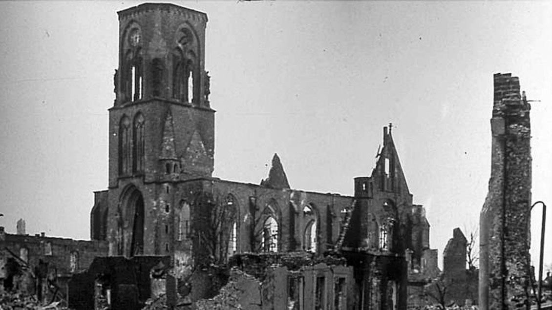 Zerstörte St.-Otger-Kirche Stadtlohn