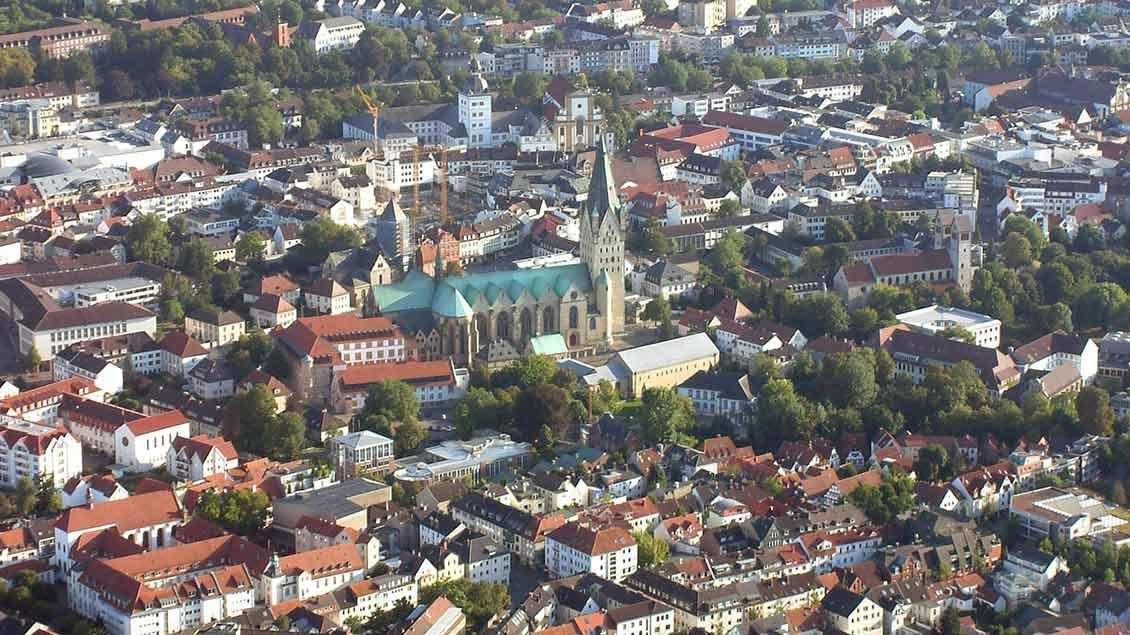 Luftbild Paderborn