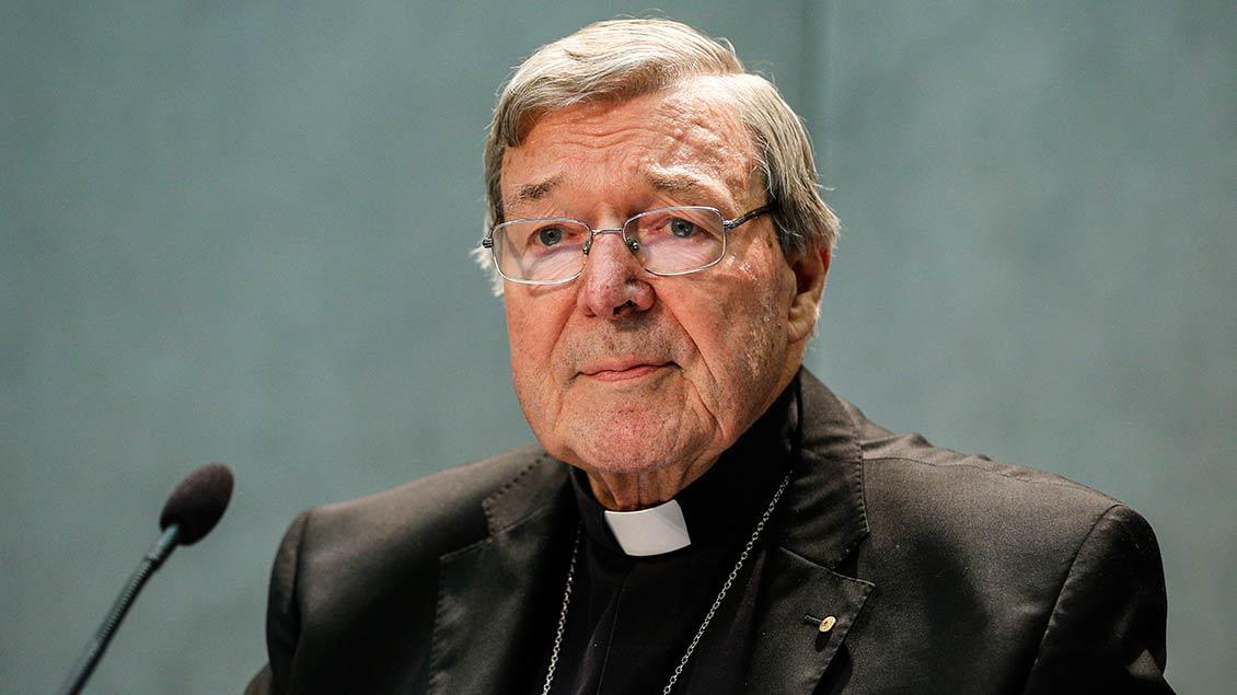 Kardinal George Pell aus Australien