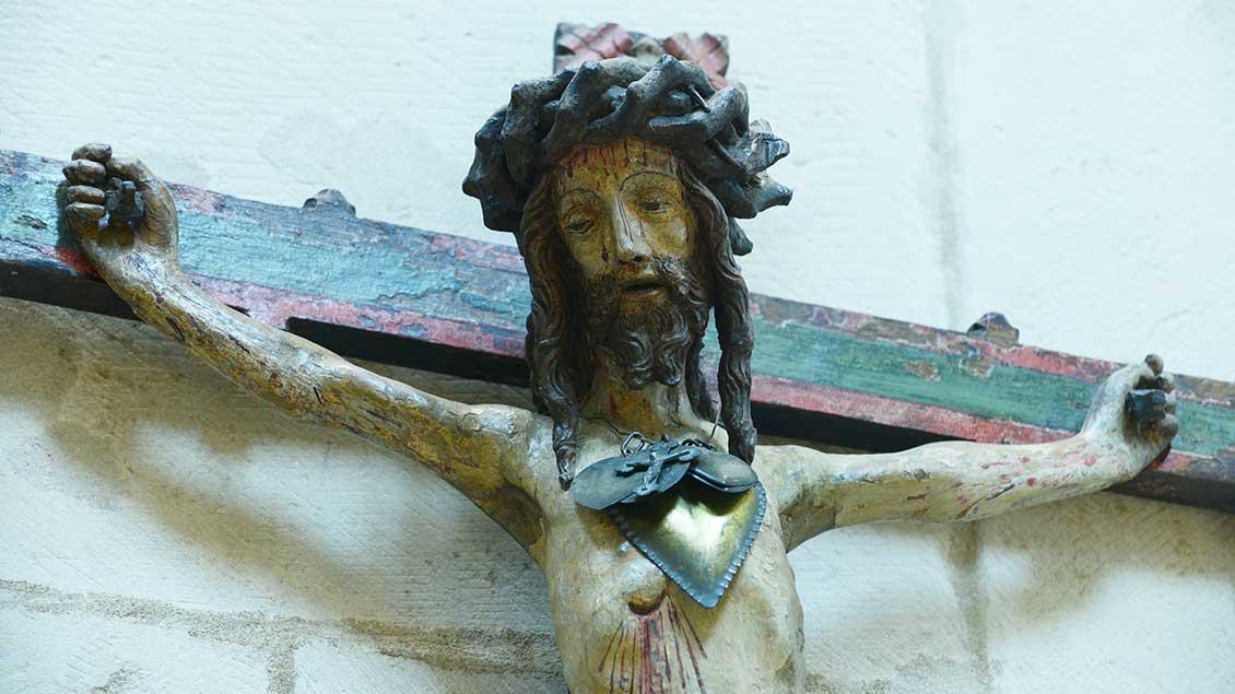 Pestkreuz aus dem Münsteraner Dom