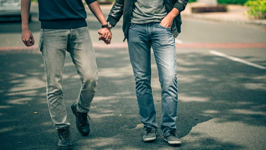 Ein schwules Paar