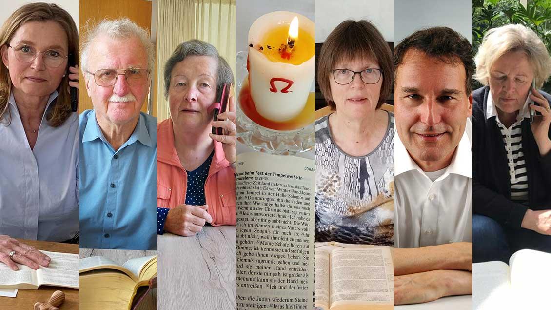 Teilnehmer des Bibelkreises Rheine