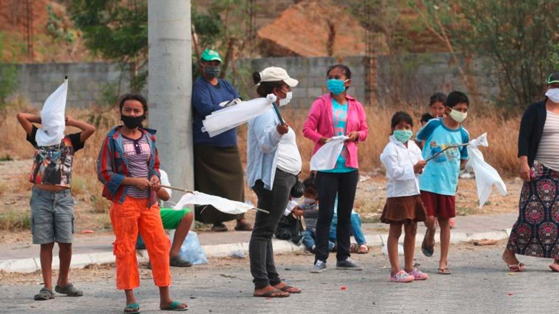 Familien in Guatemala Foto: Prensa Libre/ Érick Ávila