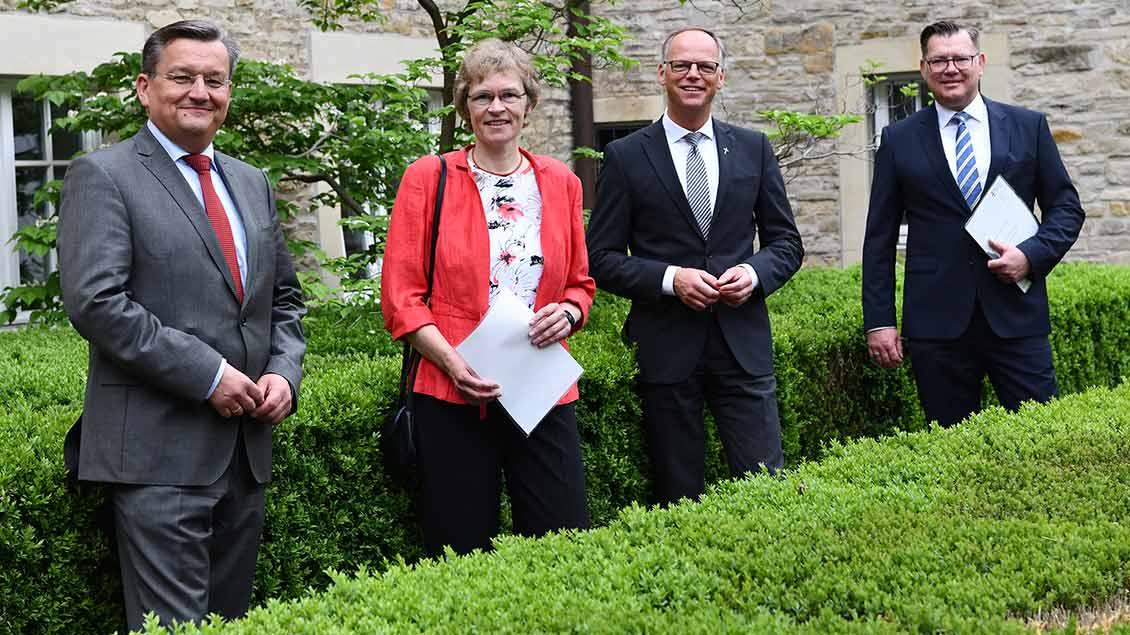 Ralf Hammecke, Annette Saal, Klaus Winterkamp, Markus Nolte