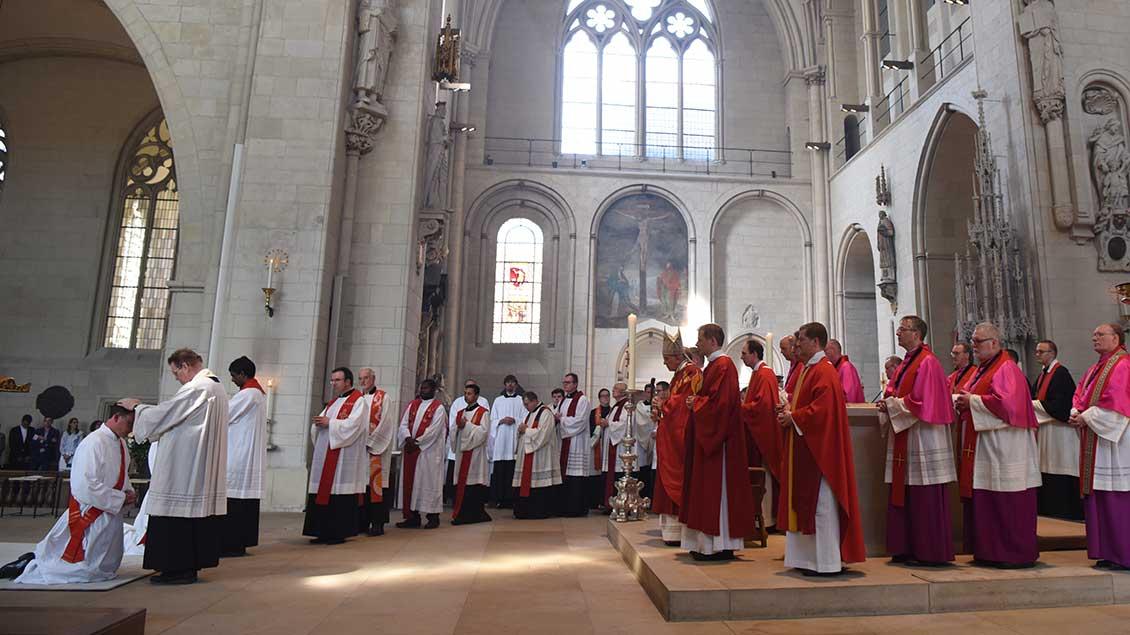 Priesterweihe 2018 im Münsteraner Dom