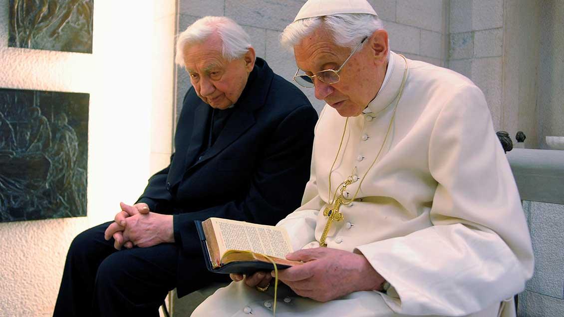 Benedikt XVI. und sein Bruder Georg