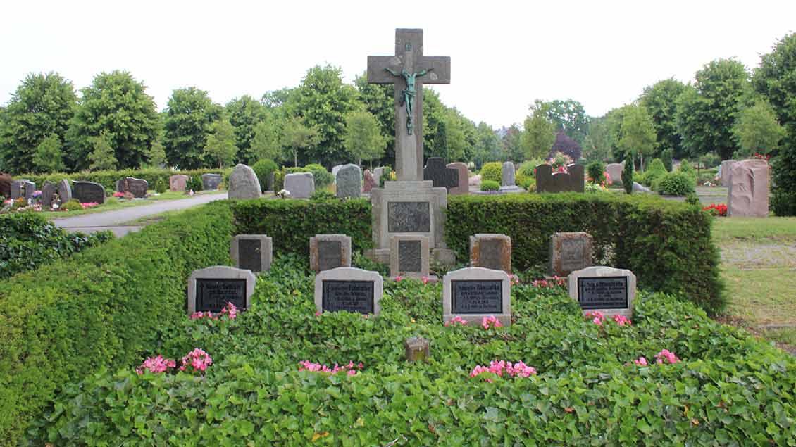 Das Gräberfeld der Ordensschwestern wird von Ehrenamtlichen gepflegt.