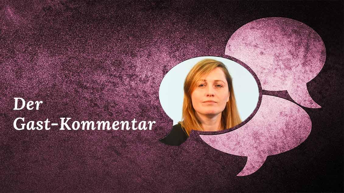 Gast-Kommentatorin Kerstin Stegemann