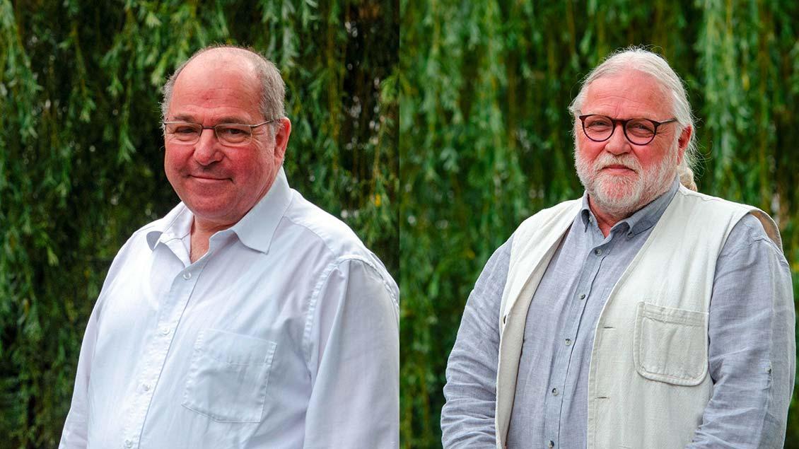 Christoph Irzik (l.) und Michael Spanke Foto: Ann-Christin Ladermann (pbm)