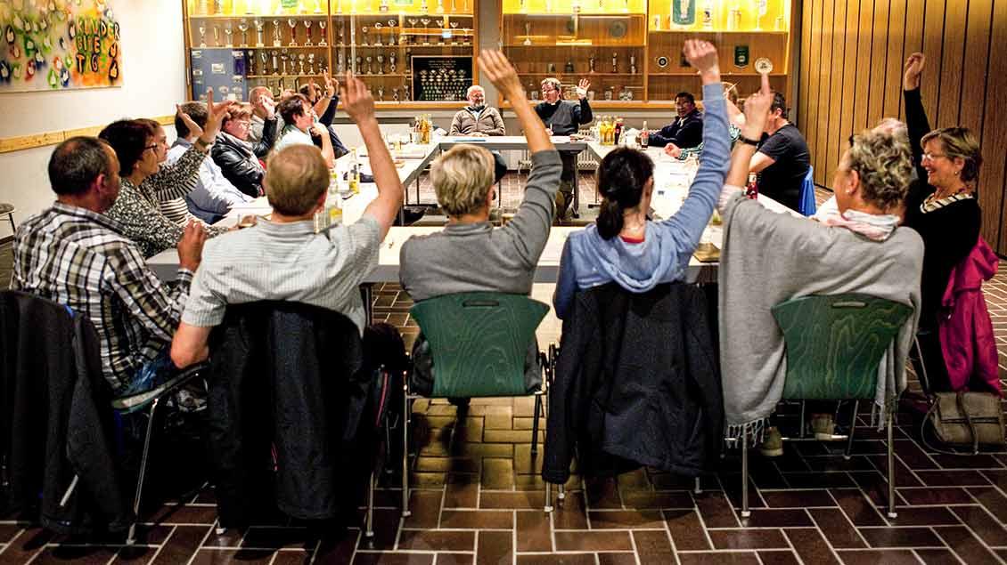 Sitzung eines Pfarreirats