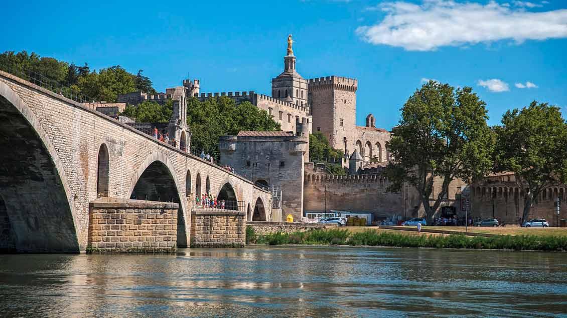 Brücke vor Avignon