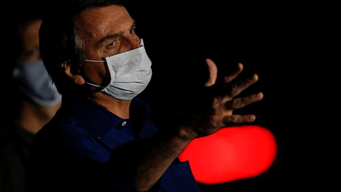 Präsident Jair Messias Bolsonaro