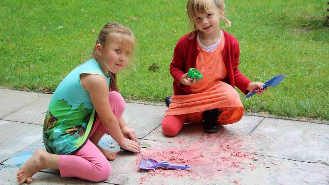 Viele Spielmöglichkeiten gibt es für die Kleinen in Haltern.