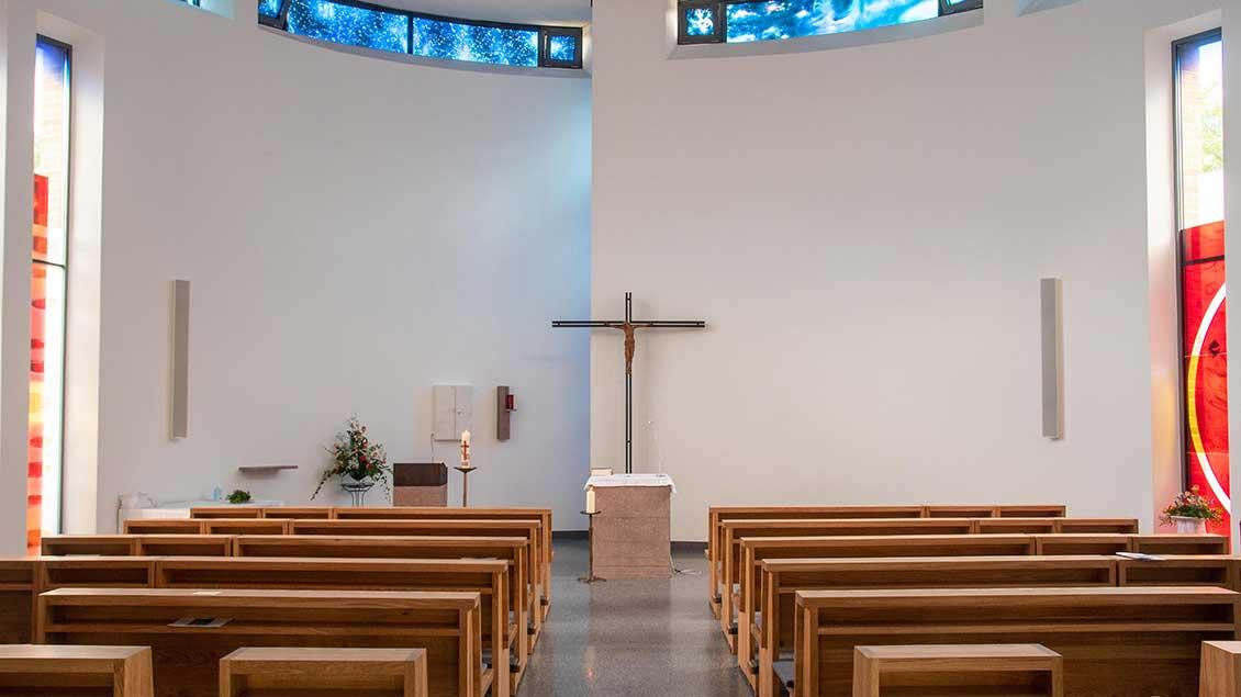 Die Kapelle im Neubau der Mauritzer Franziskanerinnen. | Foto: Ann-Christin Ladermann (pbm)