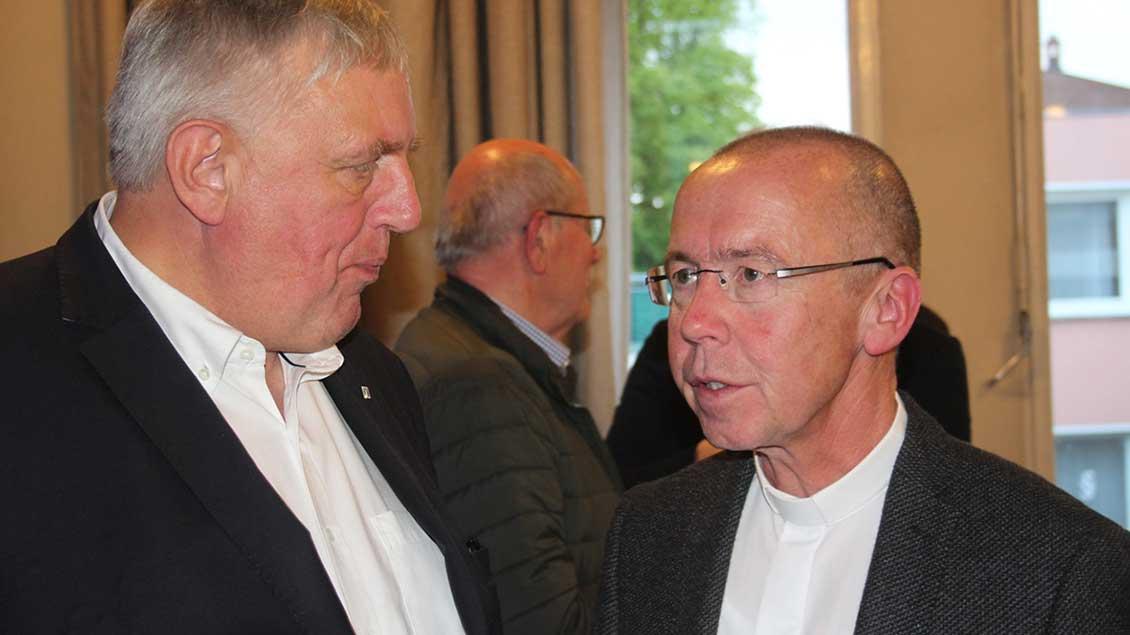 Peter Kossen und Karl-Josef Laumann
