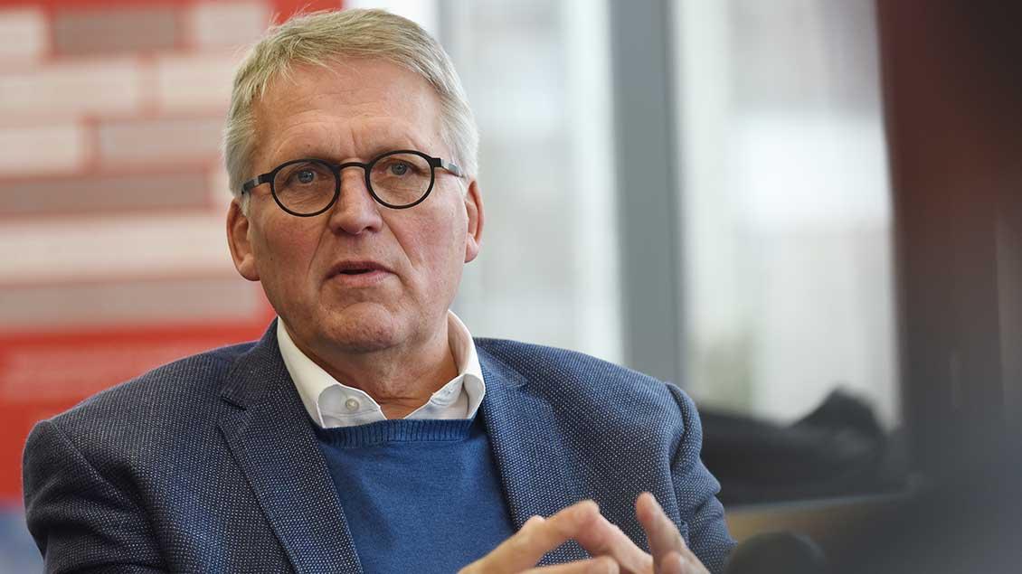 Thomas Sternberg, Präsident des Zentralkomitees der deutschen Katholiken.