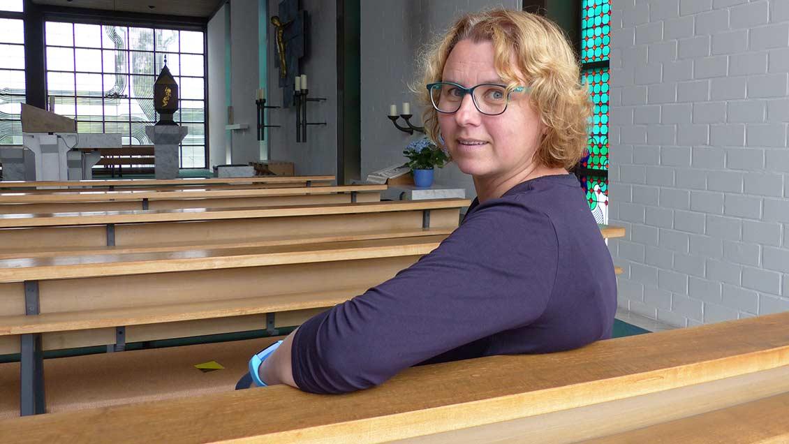 Jutta Steinkamp ist die hauptamtliche Rechnungsführerin der Gemeinde St. Vincenz Pallotti Bad Zwischenahn. | Foto: Franz Josef Scheeben