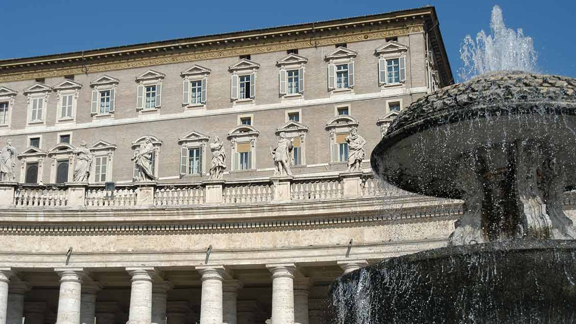 Apostolischer Palast im Vatikan