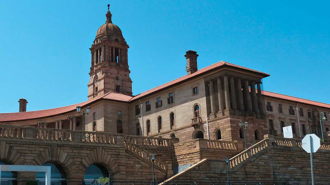 Die Union Buildings in Pretoria.