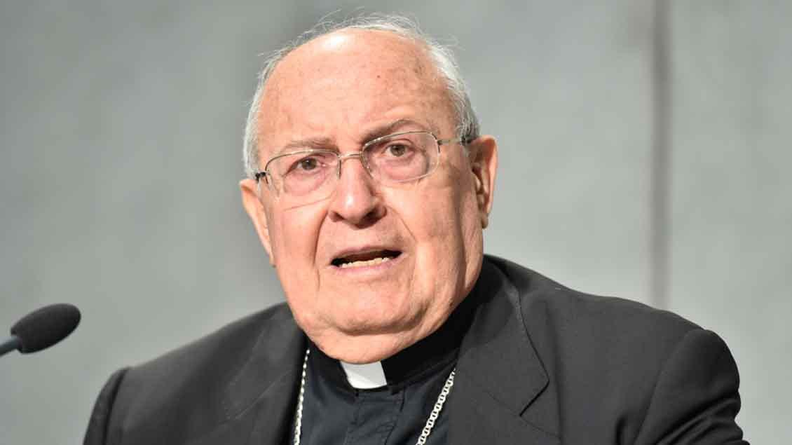Porträt des 76-jährigen Kardinal Leonardo Sandri.