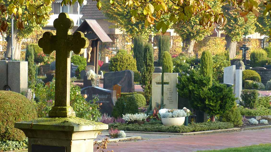 Friedhof in Damme