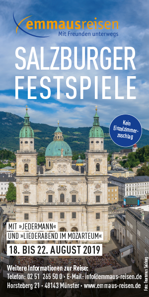 Salzburger Festspiele mit Emmaus-Reisen